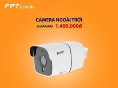 Camera Fpt ngoài trời
